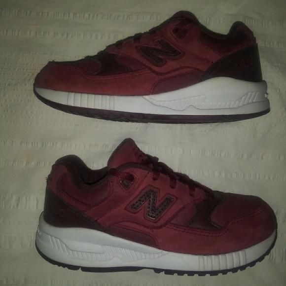 New Balance Shoes | Size New Balance 53 In Burgundy Leather | Poshmark